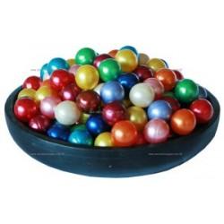 42 Perles d'huile de bain nacrées 7 Fragrances assorties