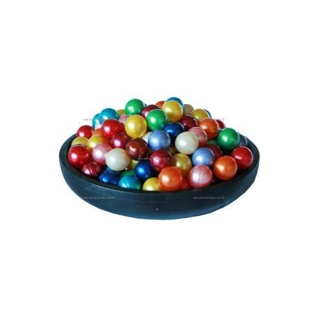48 Perles d'huile de bain nacrées 8 Fragrances assorties