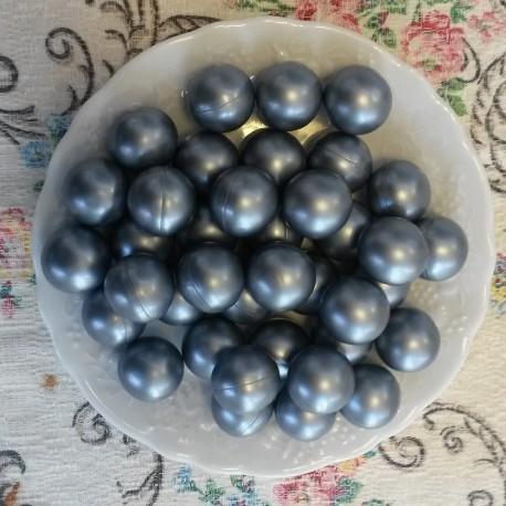 Perles d'huile de bain nacrées senteur MARINE de couleur Grise