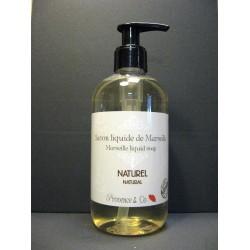 Savon de Marseille liquide Naturel flacon pompe 350 ml