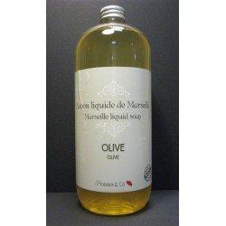 Savon de Marseille liquide PUR Olive de Provence flacon 1 Litre