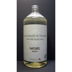 Savon de Marseille liquide Naturel flacon 1 Litre