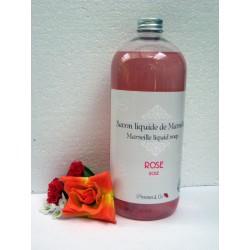 Savon de Marseille liquide Rose