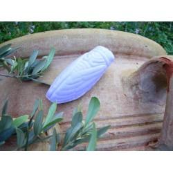 Savon de Marseille forme de Cigale parfum Rose