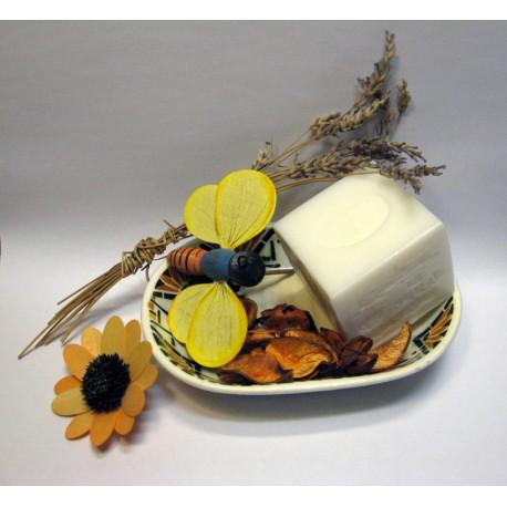 Savon de Marseille parfum Fleur de Frangipanier