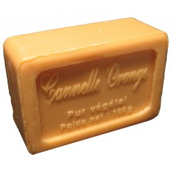 Savon de Marseille parfum Cannelle Orange