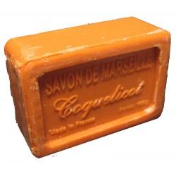 Savon de Marseille parfum Coquelicot