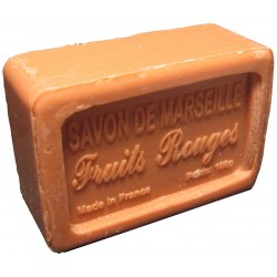 Savon de Marseille parfum Fruits Rouges