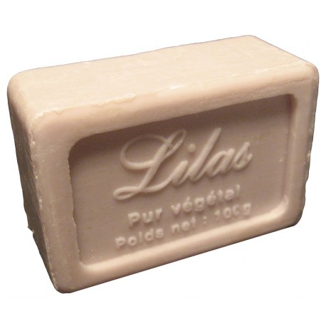 Savon de Marseille parfum Lilas