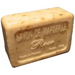 Savon de Marseille parfum Rose avec pétales broyées