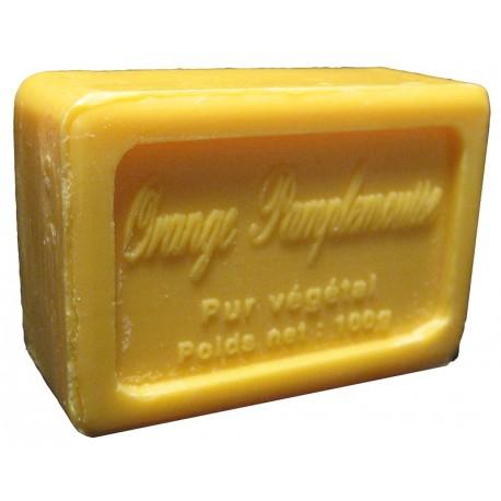 Savon de Marseille parfum Orange Pamplemousse