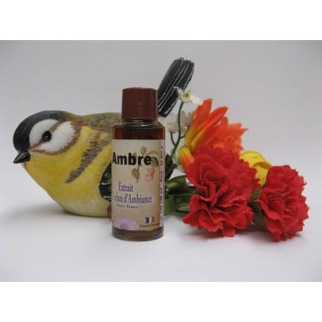 Extrait de parfum d'ambiance AMBRE