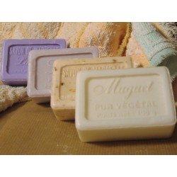 Lot de 4 savons de Marseille parfumés