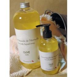 Savon de Marseille Liquide Olive