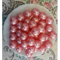 12 Perles d'huile de bain nacrées senteur Rose