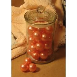 Bonbonnière de Perles de bain rose