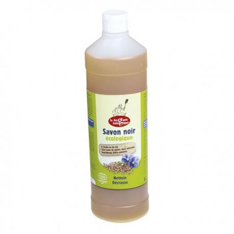Savon noir liquide à l'huile de lin