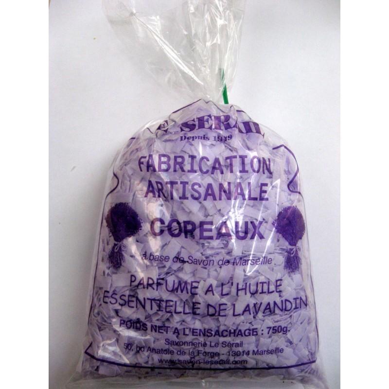 Paillettes de v ritable savon de marseille 72 extra pur d - Savon de marseille en copeaux ...