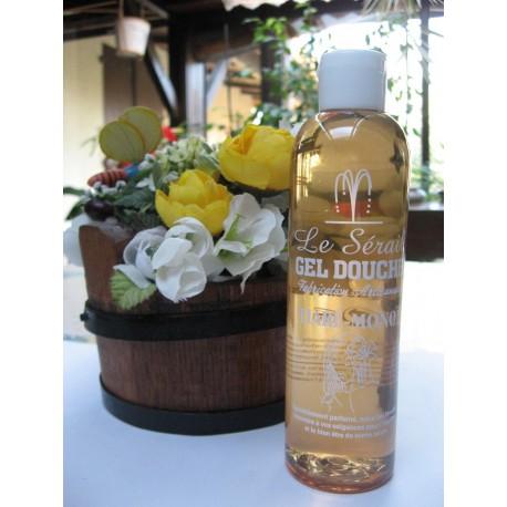 Gel douche parfumé Tiaré Monoï flacon 250 ml