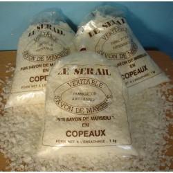 copeaux de savon de Marseille