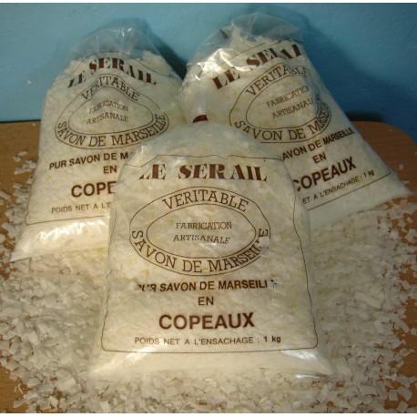 Paillettes de Véritable savon de Marseille 72% EXTRA PUR d'huile Végétale