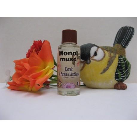 Extrait de parfum d'ambiance MONOÏ MUSC