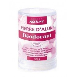 PIERRE D'ALUN EN STICK 120 G - DÉODORANT NATUREL CORPOREL