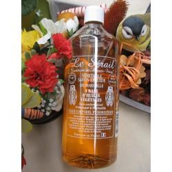 Savon liquide de Marseille naturel sans parfum ajouté 1 litre