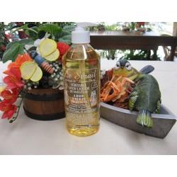 Savon de Marseille liquide naturel sans parfum ajouté 500 ml avec pompe