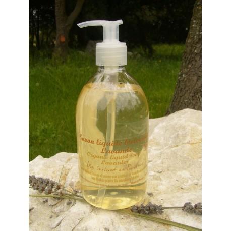 Savon de Marseille liquide Certifié Biologique Label Ecocert 300 ml