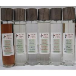 Eaux de toilette aux parfums de Grasse naturel
