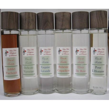 Eaux de toilette aux délicats parfums de Grasse Spray naturel 100 ml