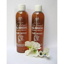 2 Gel douche au Véritable savon de Marseille parfum Tiaré Monoï 2 x 250 ml