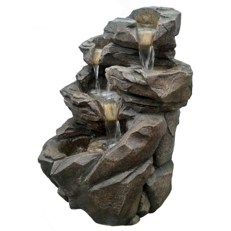 Grande fontaine de jardin niagara - Petite fontaine de jardin pas cher ...