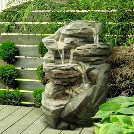 grande fontaine de jardin niagara. Black Bedroom Furniture Sets. Home Design Ideas