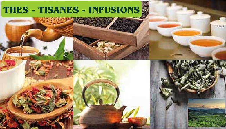 Thés - Tisanes - Infusions - Plantes