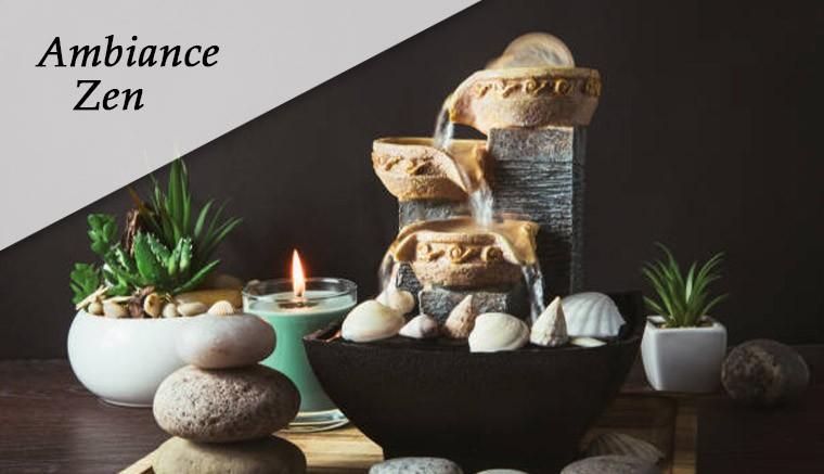Découvrez nos produits Ambiance Zen
