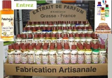 Parfums d'ambiance fabriqués au Pays de Grasse