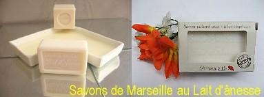 Savon de Marseille au lait d'ânesse