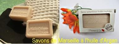 Savon de Marseille à l'huile d'Argan