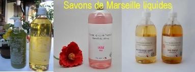Savon de Marseille Liquide pour le corps