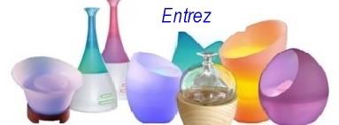 Diffuseurs et brumisateurs d'huiles essentielles et parfums